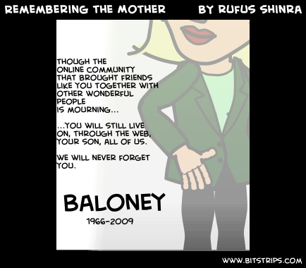 Remembering the Mother