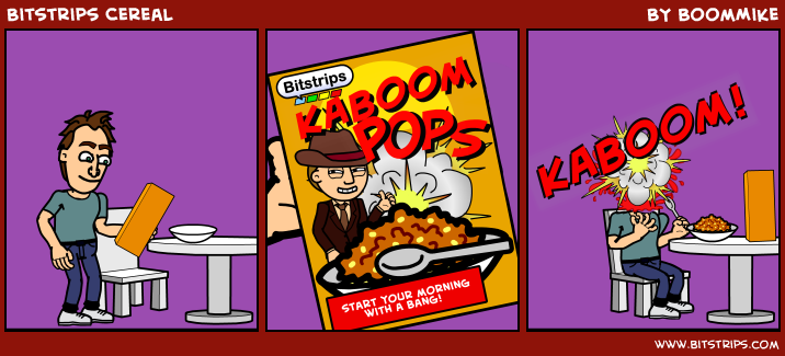 Bitstrips Cereal