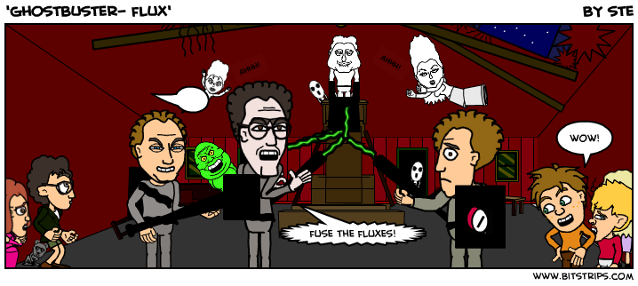 'ghostbuster- flux'