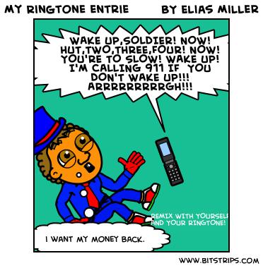 My Ringtone entrie