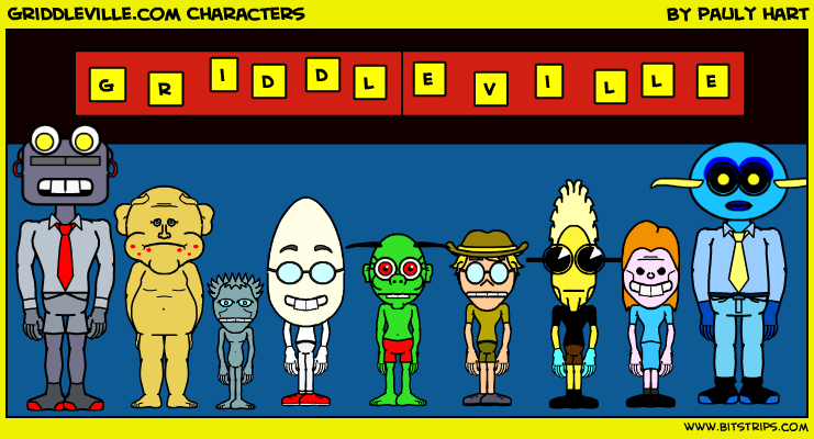 Griddleville.com Characters