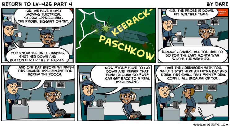 Return to LV-426 Part 4