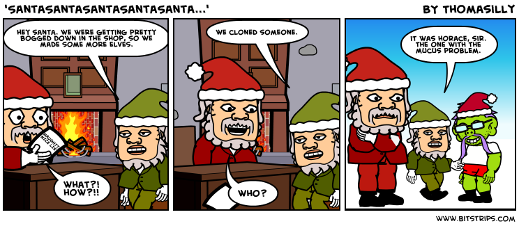 'SantaSantaSantaSantaSanta...'