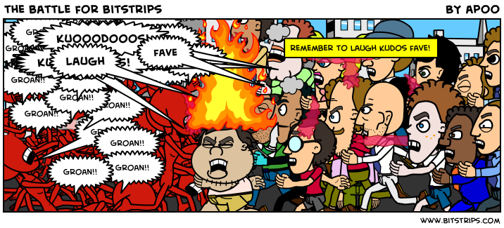 the battle for bitstrips