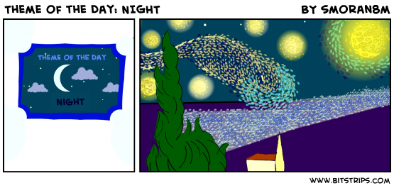 Theme of the Day: NIGHT