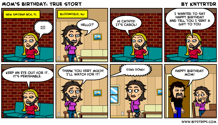 Mom's Birthday: True Story