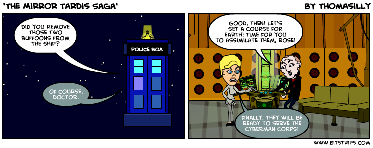 'The Mirror Tardis Saga'