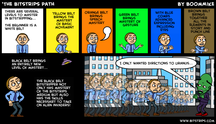 'The Bitstrips Path
