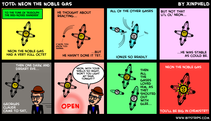 TotD: Neon the Noble Gas