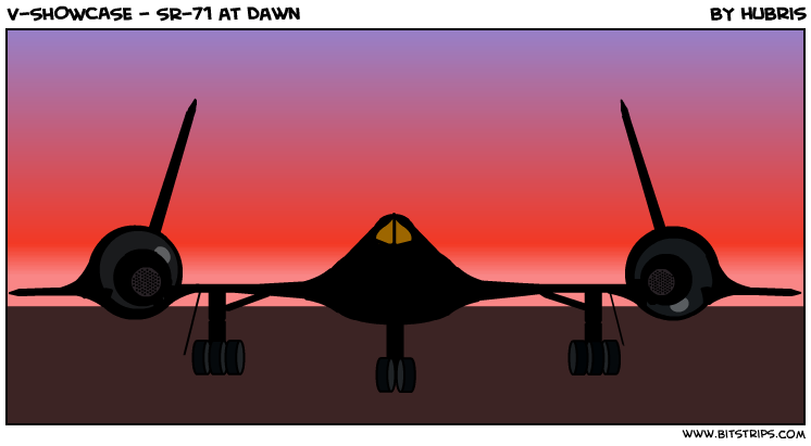V-SHOWCASE - SR-71 at Dawn
