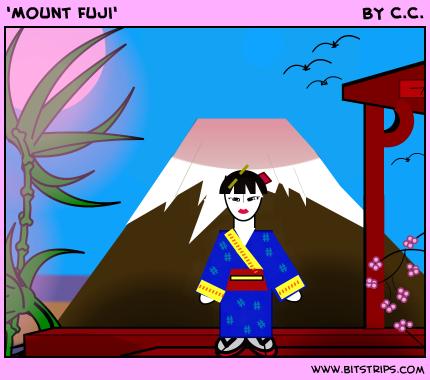 'Mount Fuji'