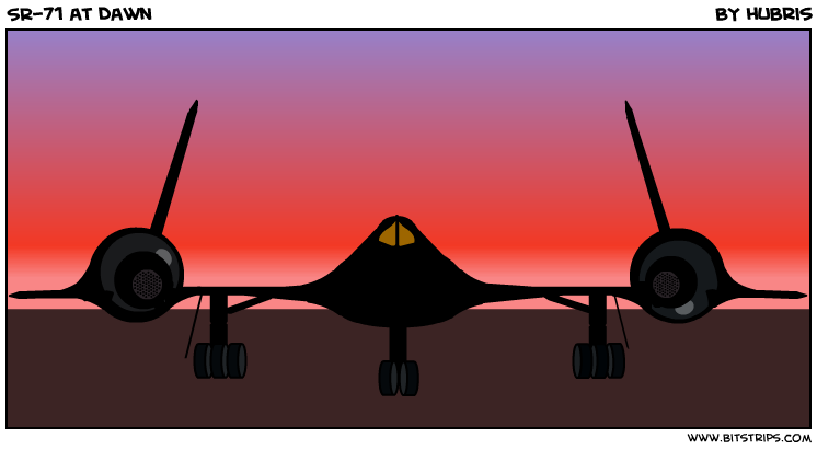 SR-71 at Dawn