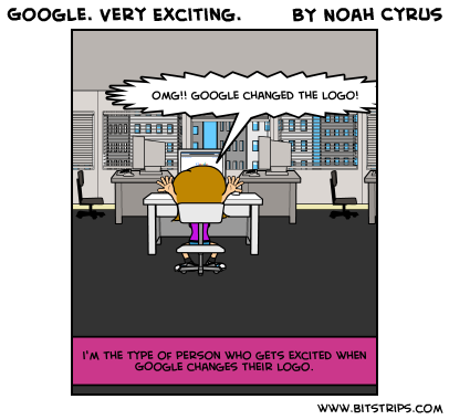 Google. Very Exciting.