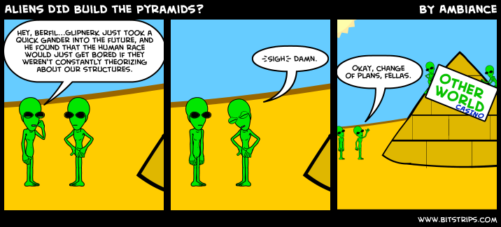 Aliens DID Build the Pyramids?