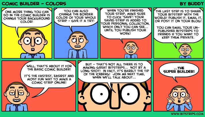 Comic Builder - Colors