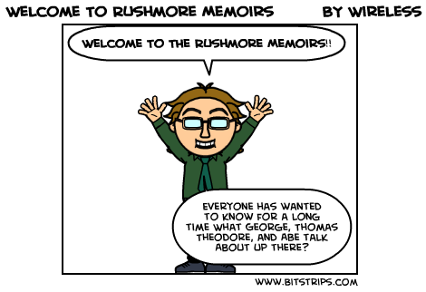 Welcome To Rushmore Memoirs