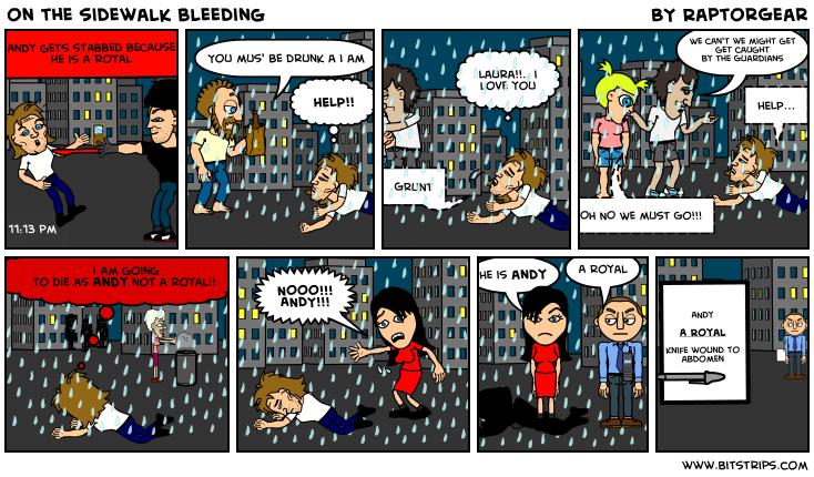 on the sidewalk bleeding essay