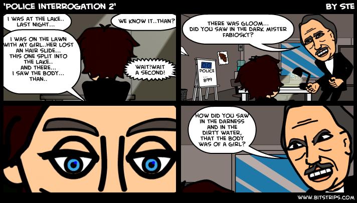'Police interrogation 2'