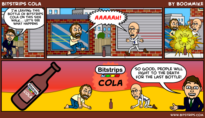 Bitstrips Cola