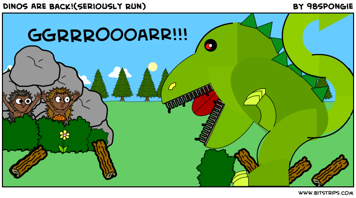 Dinos Are Back!(Seriously Run)