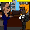 MR OBAMA AND MR WOLVEREINE