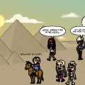 Trip to Egypt.