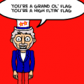 you're a grand ol' flag