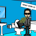 Phil is making a Bitstrip