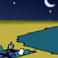 'Beach scene'