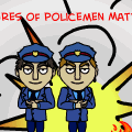 Adventures of policemen Matt and Tim
