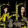Royal pains of royal raccoons