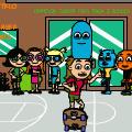 Cartoon Junior High Back To School