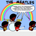 The Meatles: Bad Pun Remix