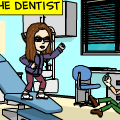 Me at the dentist