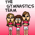 The Gymnastics Team