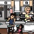 kitchen scene :-)