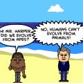 A.P.E. visits Harper & Oba