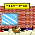 the day they died