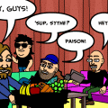 THE BITSTRIPS BAND