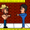 Chuck norris vs Super man