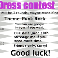 Dress contest R1