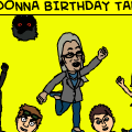 THE DONNA BIRTHDAY TALE