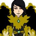 Golden Flaming Dragon