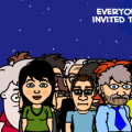 I.Z. Full Moon Invitation