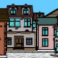 sucky 1800s street scene