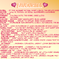 Tell me your favorites. C: