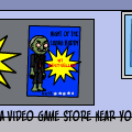 NOT coming to a video game store near you