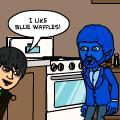 Blue Waffles.