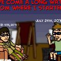 A long way indeed