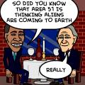 alien vs president